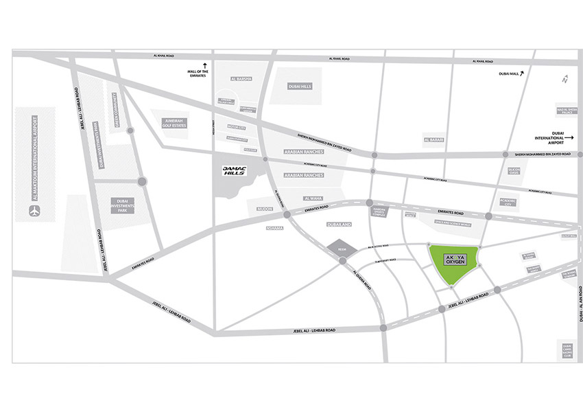 Chelsea Boutique Villas Location Map